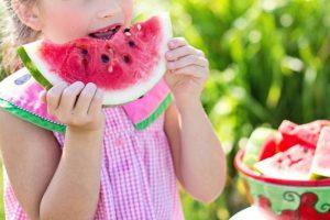 Watermelon in summer