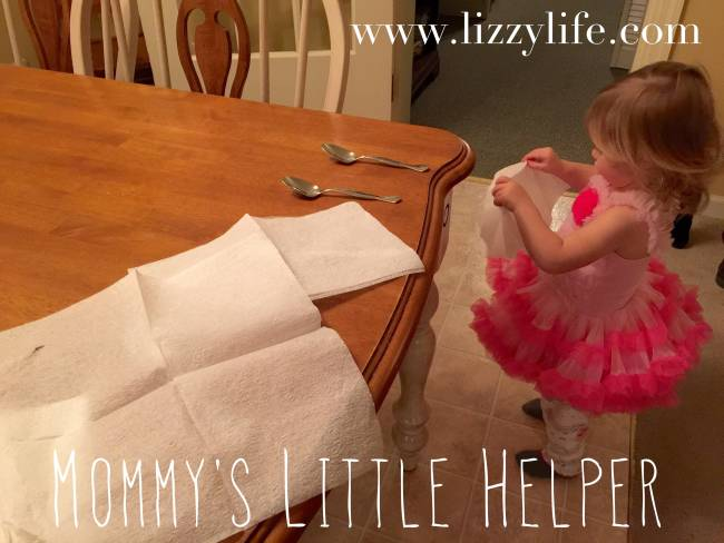teaching toddlers to be helpers