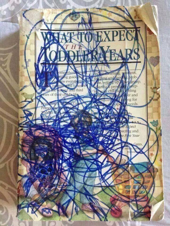when you give a toddler a pen
