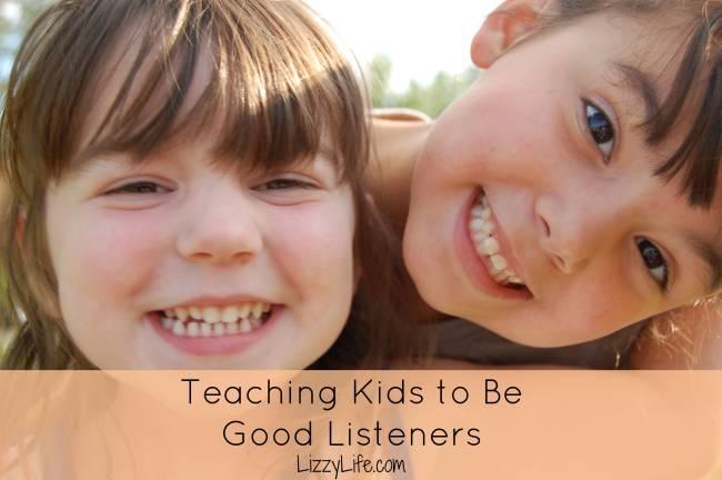 Fun activities to teach children listening skills @lizzylit