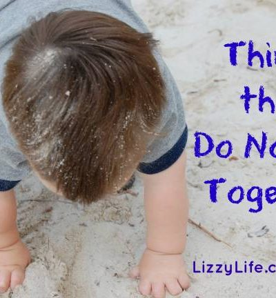 things that don't go together via @lizzylit