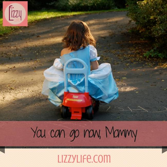 letting go of our kids via @lizzylit