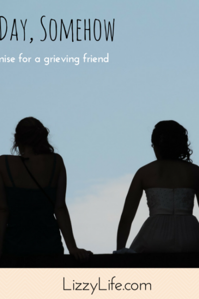 A poem to encourage a grieving friend