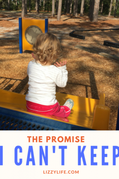 letting go of our children