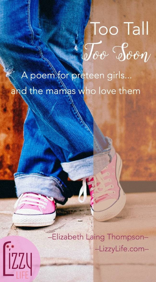 a poem for preteen girls and their mothers